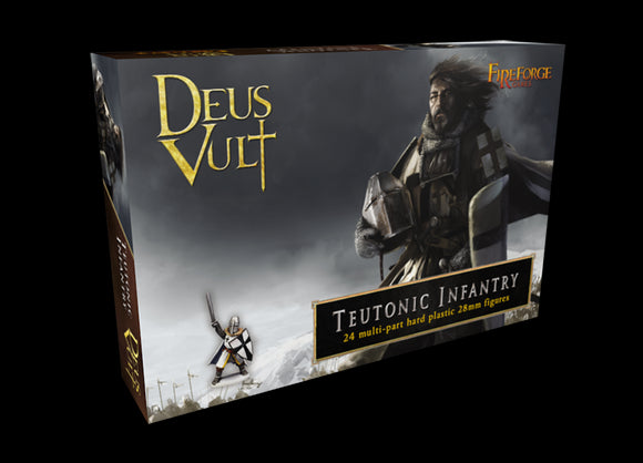 Fireforge Games Teutonic Infantry Set