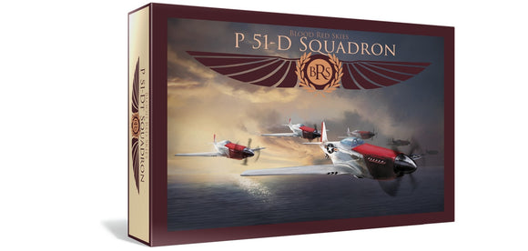 Warlord Games Blood Red Skies US P-51 Mustang Squadron 6 Planes