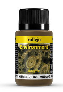 Vallejo Weathering Effects Mud and Grass Effect 40ml