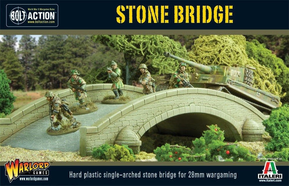 Warlord Games Bolt Action Hard Plastic Single Arched Stone Bridge