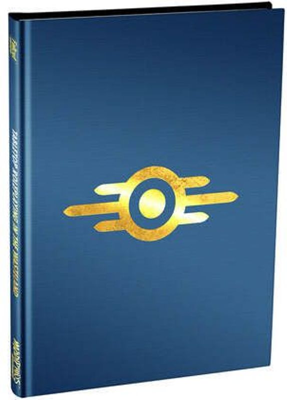 Fallout Wasteland Warfare Roleplaying Game Book Limited Edition