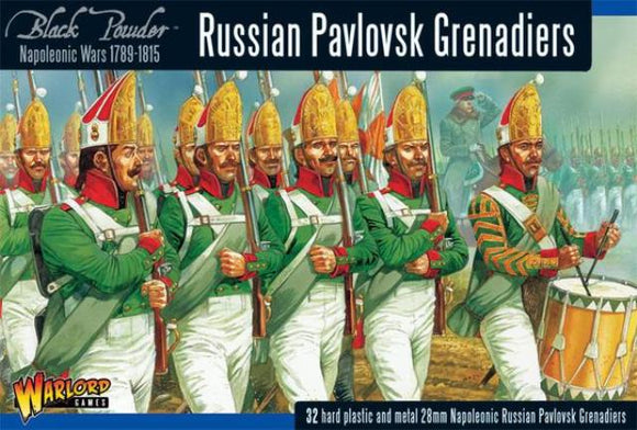 Warlord Games Napoleonic Russian Pavlosk Grenadiers