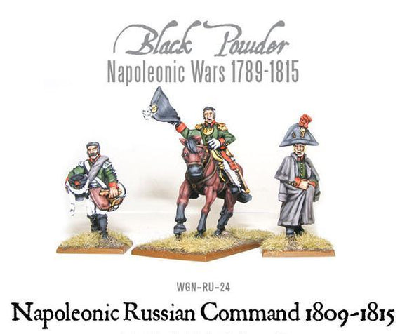 Warlord Games Napoleonic Russian Command 1809-1815