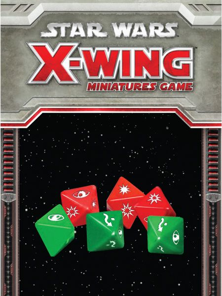 Star Wars X-Wing Miniatures Game Dice Pack