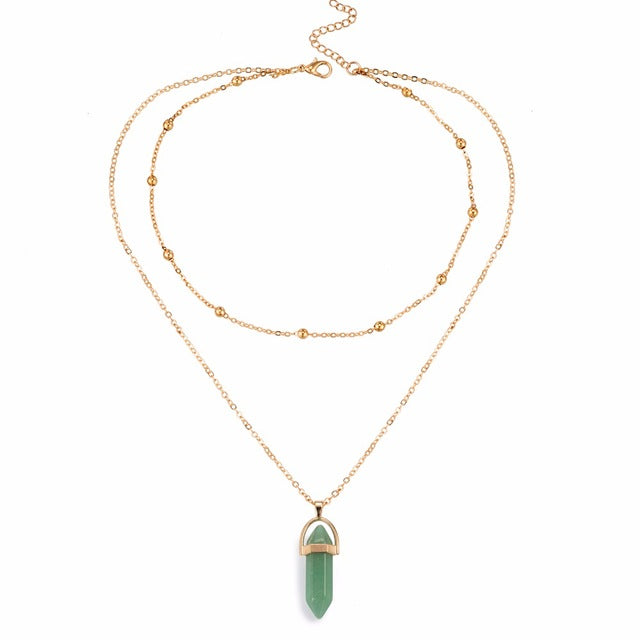 ISLAND GIRL Layered Opal Necklace