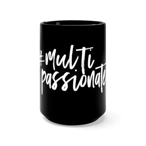 The Multi-Passionate Mug (Black)