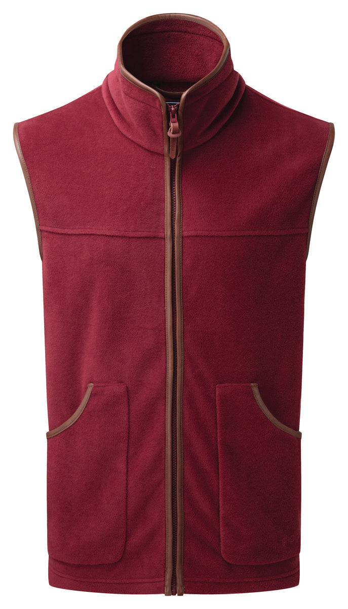 ShooterKing Performance Fleece Gilet   Bordeaux
