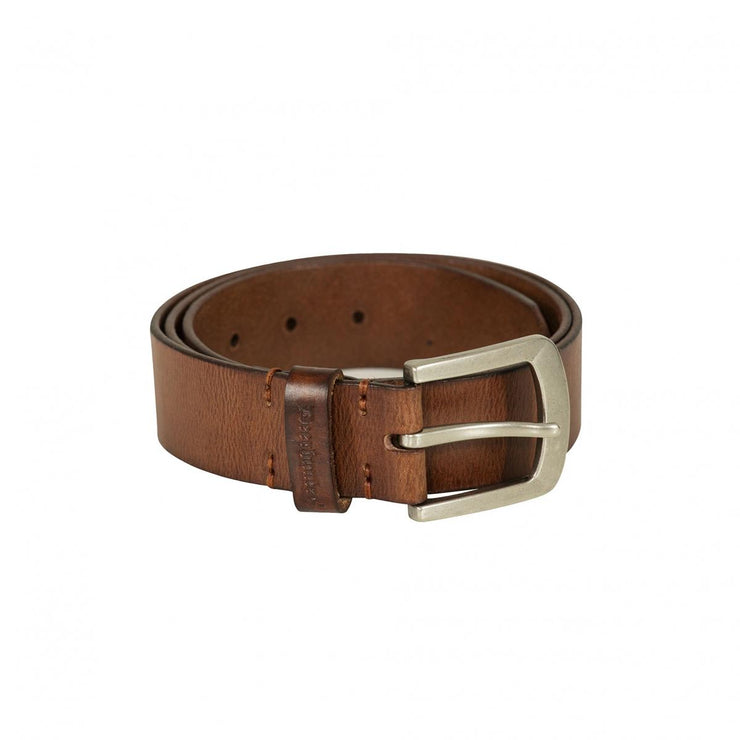 Deerhunter Leather Belt, width 4 cm Light Brown