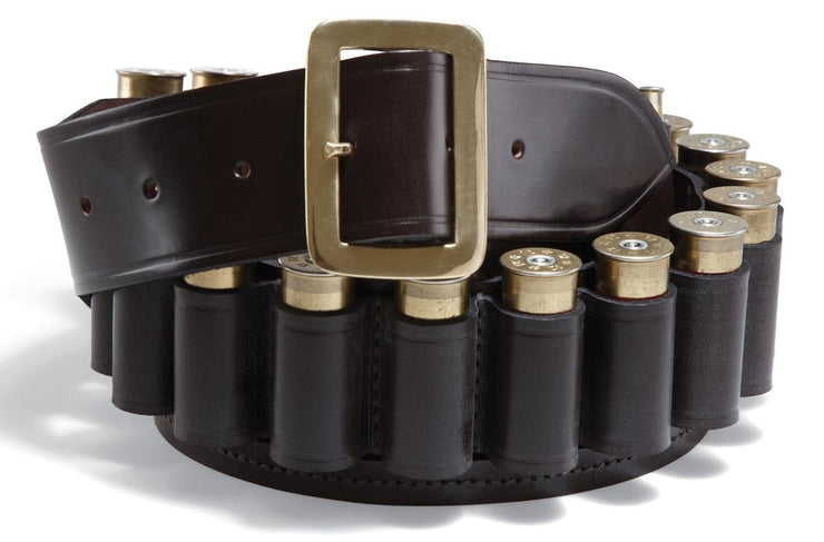 Croots Cartridge Belt 12G X Large Malton Bridle Leather
