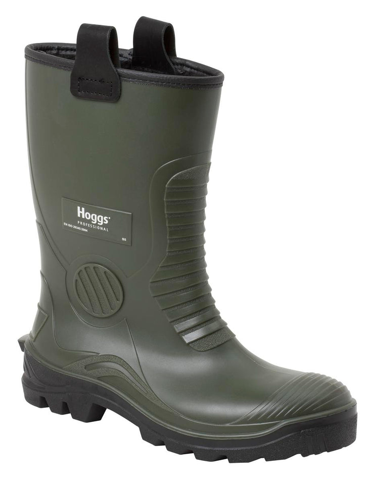 Hoggs of Fife Aqua-Tuff Safety Rigger Green