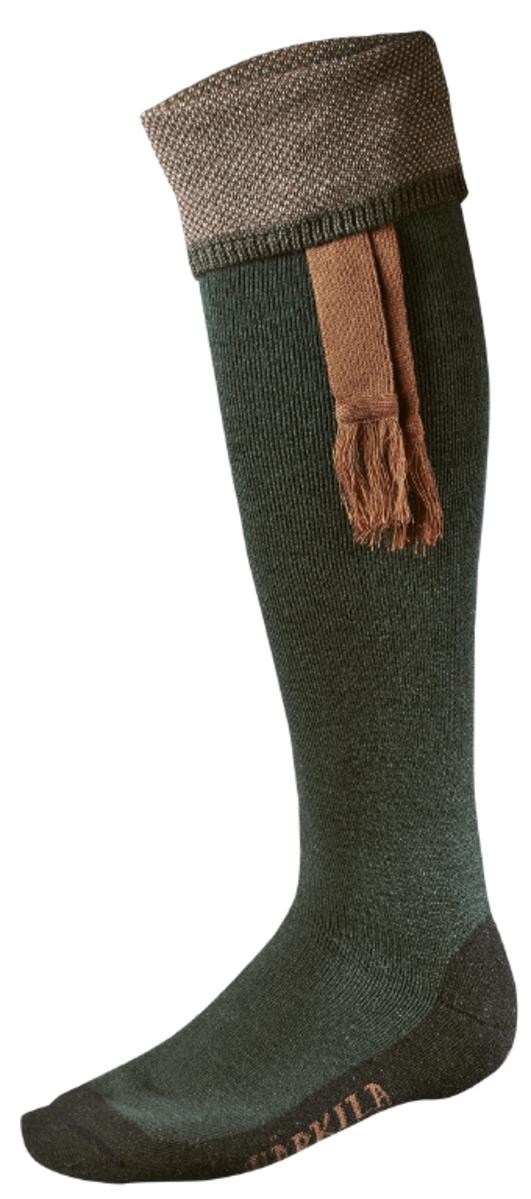 Harkila Sporting Estate sock Bottle Green /Bronze