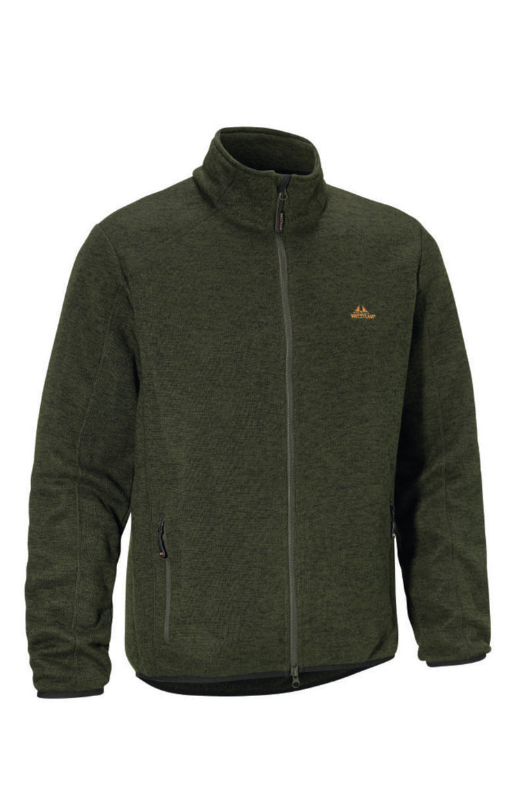 SwedTeam Josh Classic M Sweater Full-zip Green