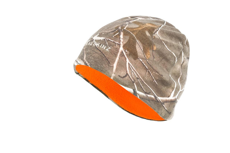 Seal Skinz Camo Waterproof Reversible beanie Realtree Xtra/Blaze Orange
