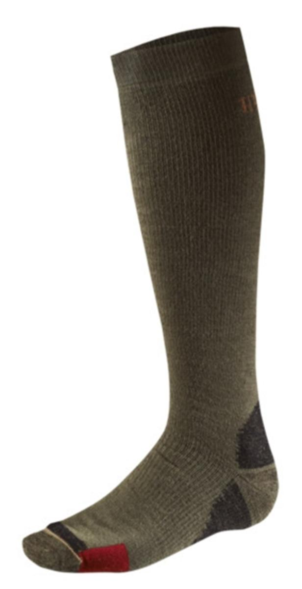 Harkila Big Game compression long sock Dark green
