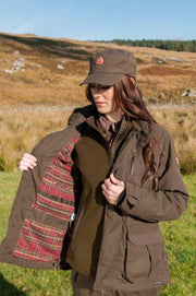 ShooterKing Highland Jacket Ladies Dark Olive/Brown