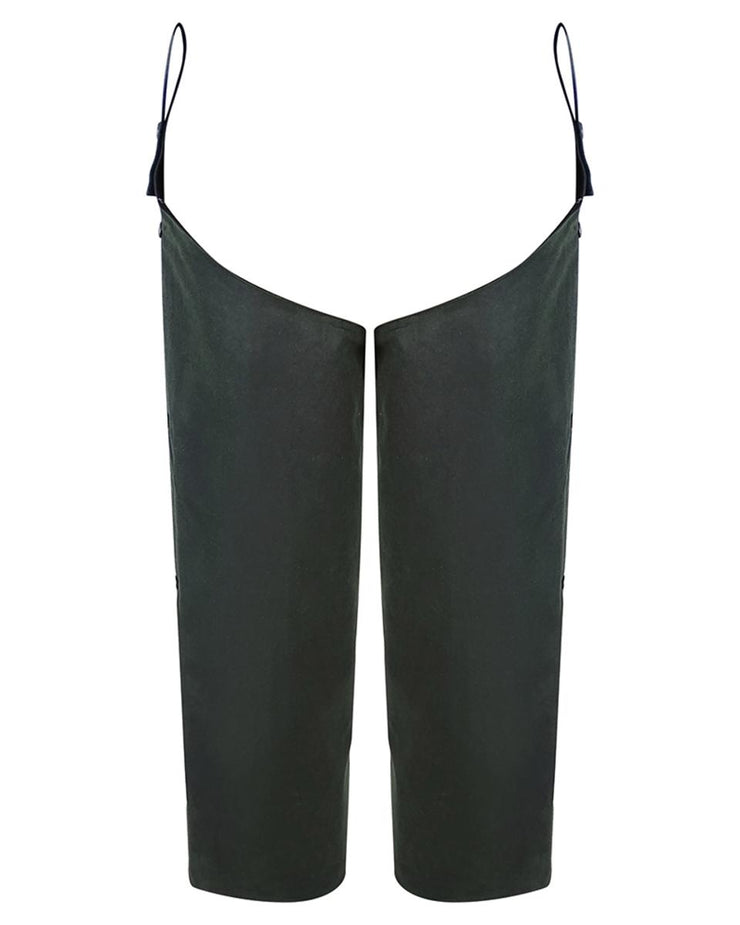 Hoggs of Fife Waxed Leggings  Olive