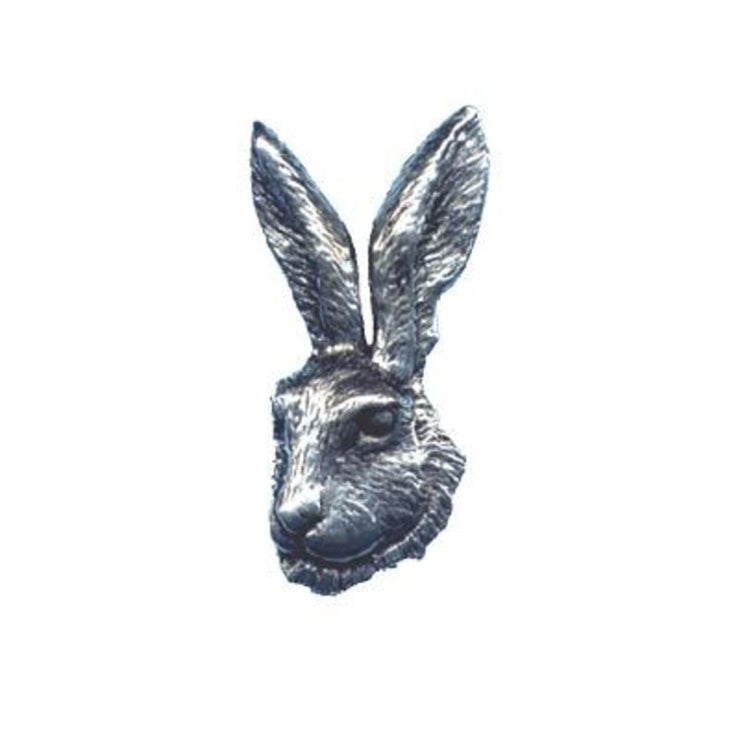 Bisley Pewter Pin No.25 Hare's Head