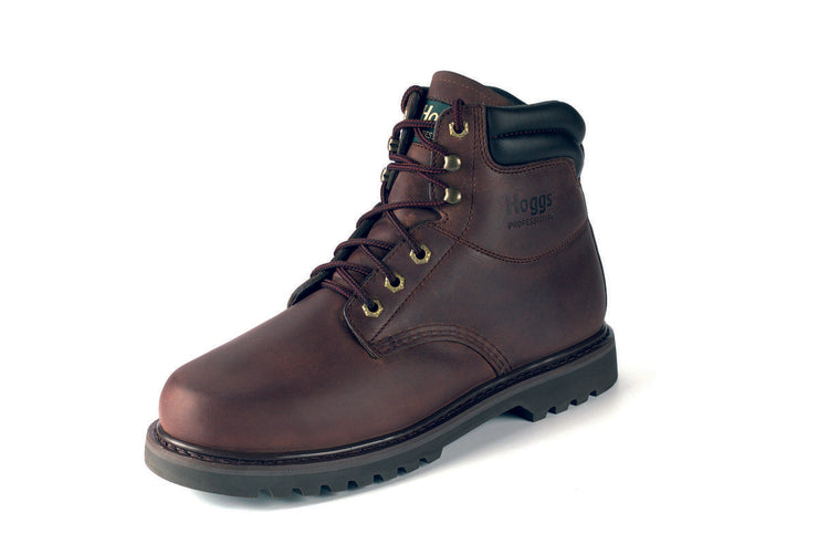 Hoggs of Fife Jason-WNSL Lace-up Boots Crazy Horse Brown