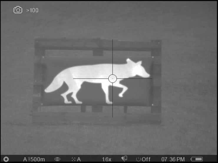 Thermbright Coyote Passive Thermal Target