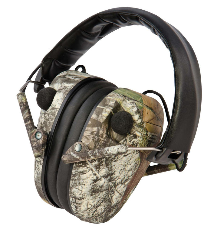 Caldwell Caldwell E-Max Low Profile Electronic Hearing Protection Mossy Oak Break Up