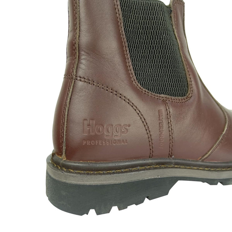 Hoggs of Fife Zeus Safety Dealer Boots Brown