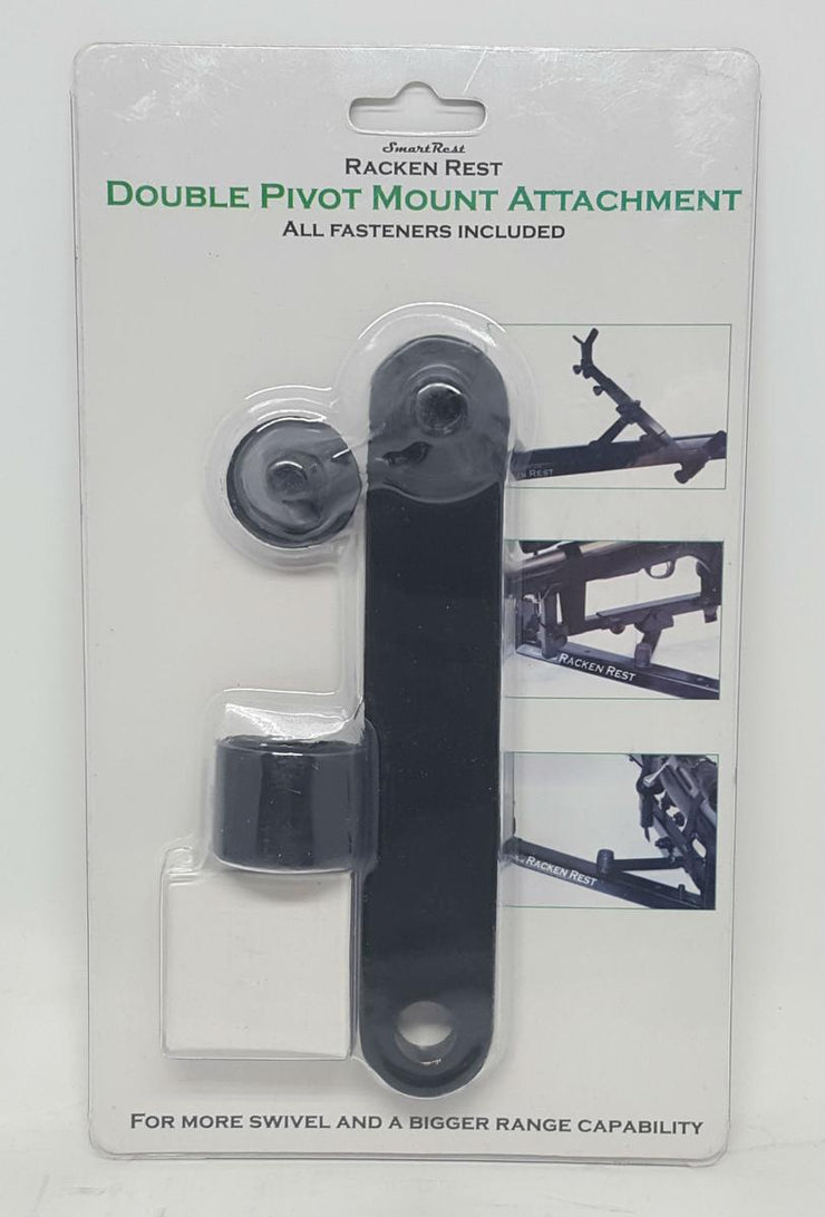 SmartRest Double Pivet Mount Attachment (for racken rest)