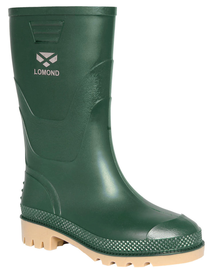 Hoggs of Fife Lomond Mens PVC Boots Green