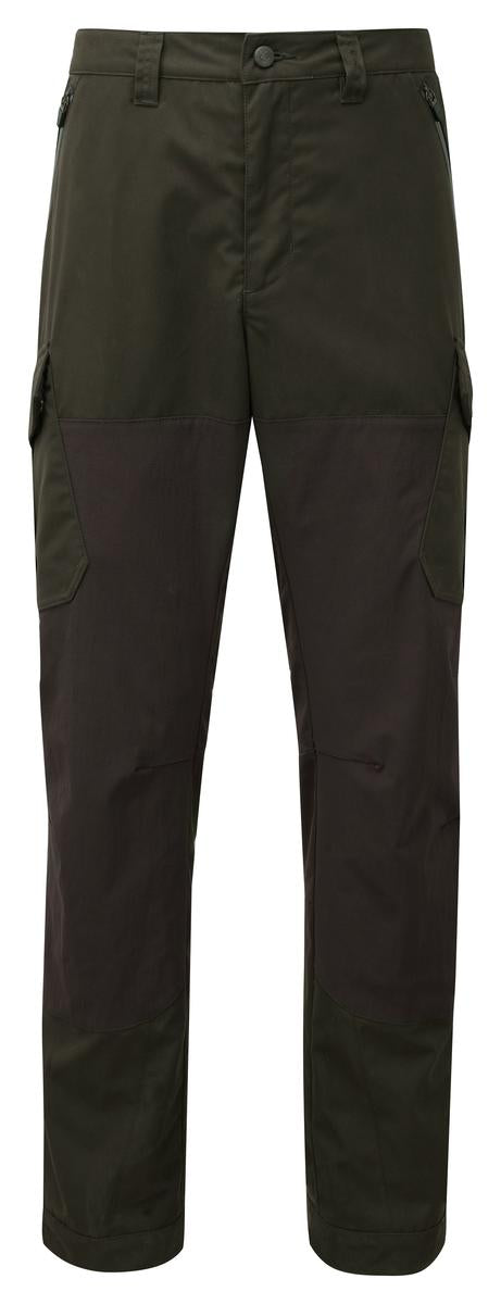 ShooterKing Highland Trousers Dark Olive/Brown