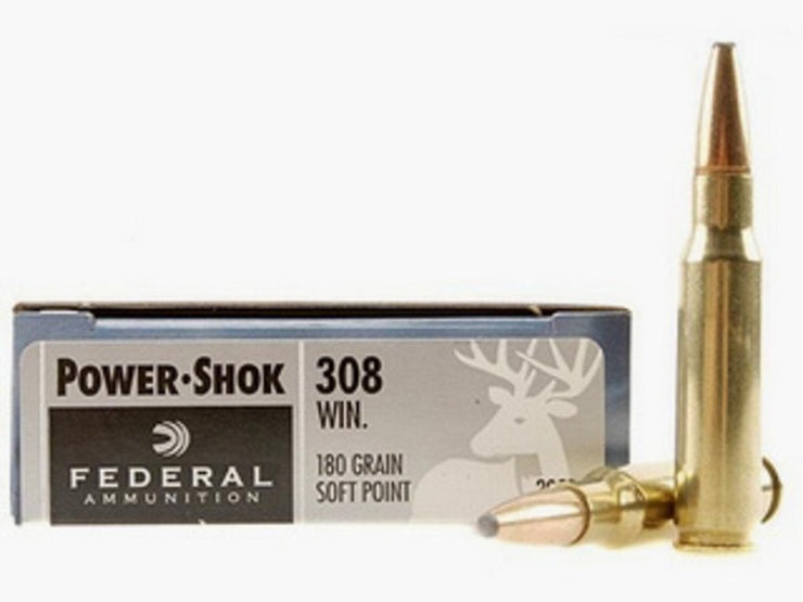 Federal  .308 WIN 180GR ( Soft Point) 20pk