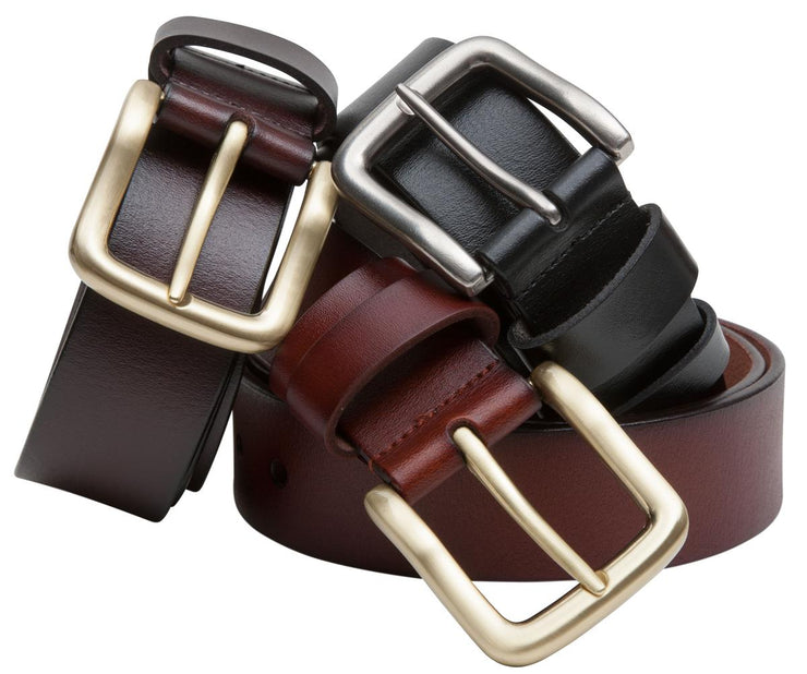 Hoggs of Fife Hoggs Luxury Leather Belt Black
