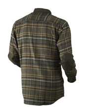 Harkila Pajala shirt Willow green check