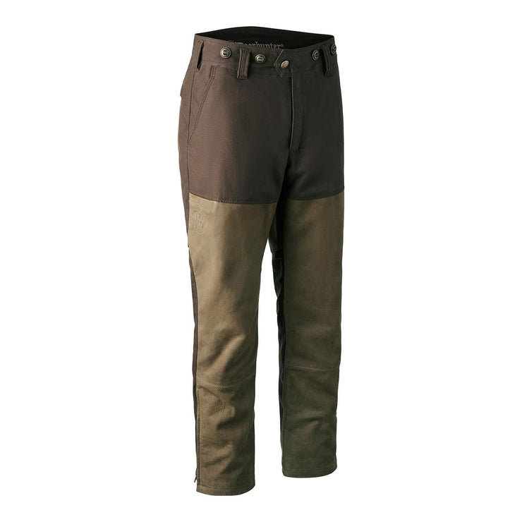 Deerhunter Marseille Leather Mix Boot Trousers - Walnut