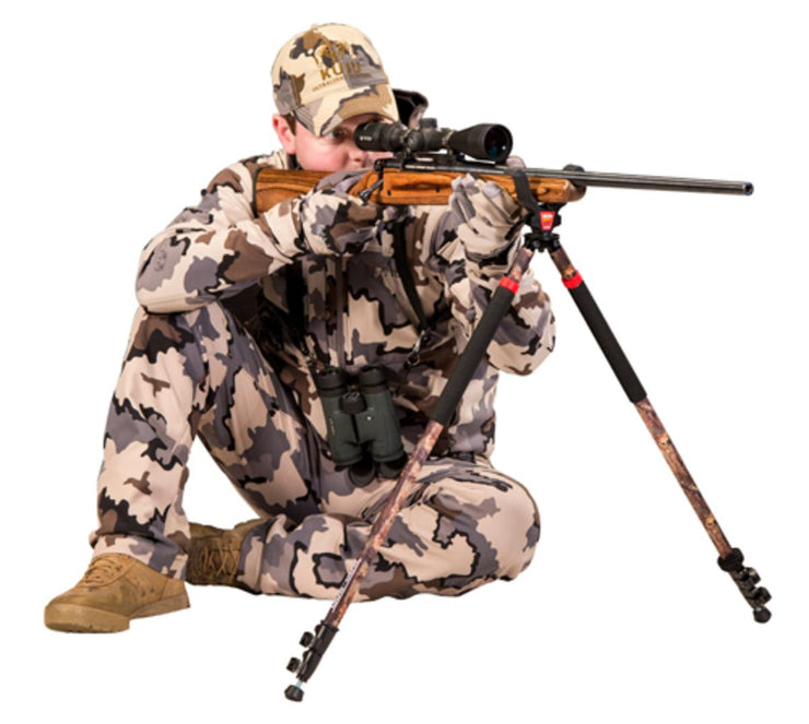 Bog Bog Adrenaline Switcheroo Bipod Camo Shooting Stick