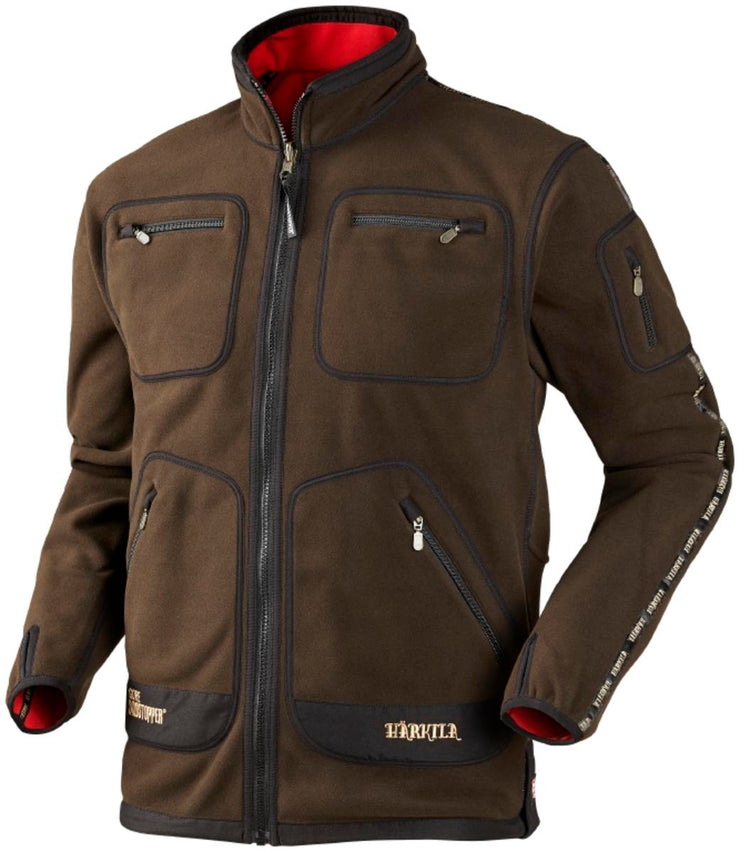 Harkila Kamko fleece Brown/Red