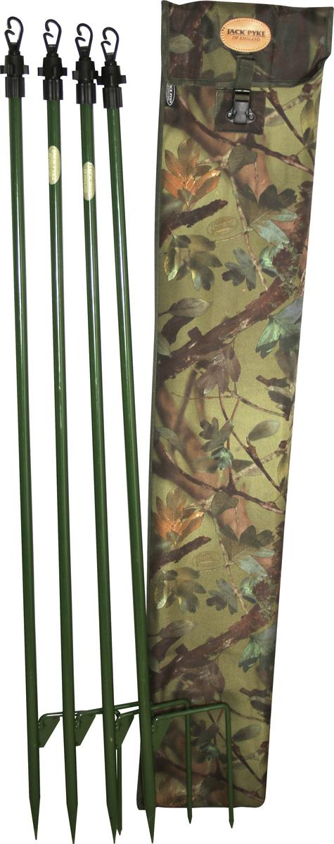 Jack Pyke Super Hide Pole Set of 4