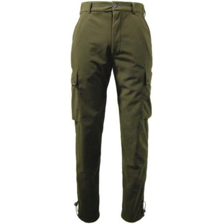 Game EN302 Tecl-Wood Stealth Waterproof Trousers Hunters Green