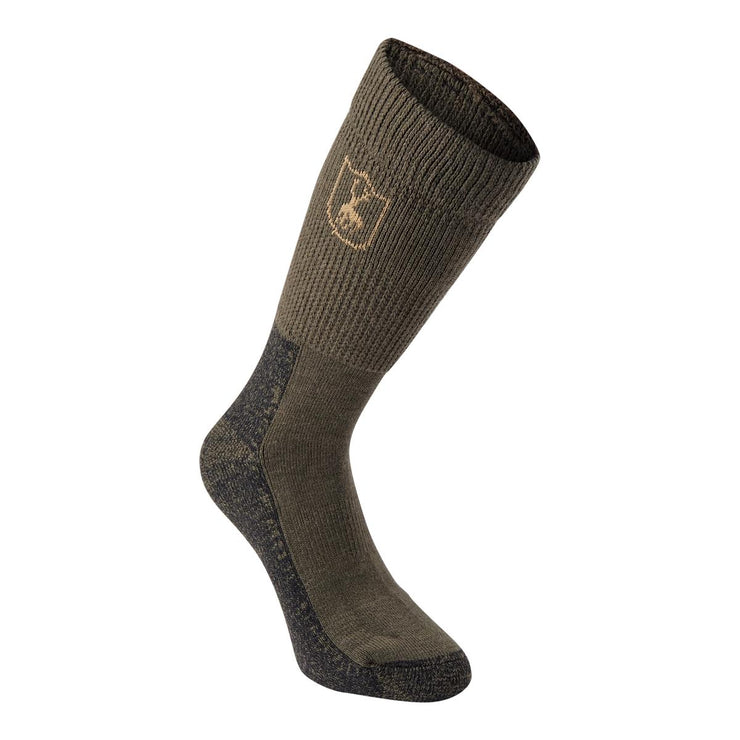 Deerhunter Wool Socks Deluxe - short - Grape leaf