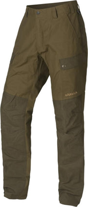 Harkila Asmund trousers - Dark olive/Willow green