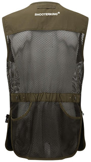 ShooterKing Clay Shooter Summer Vest   Green