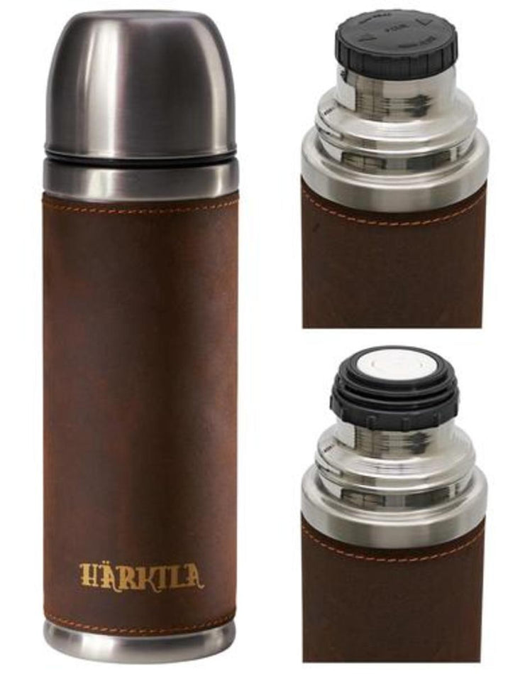 Harkila Thermos flask w/ leather 750 ml