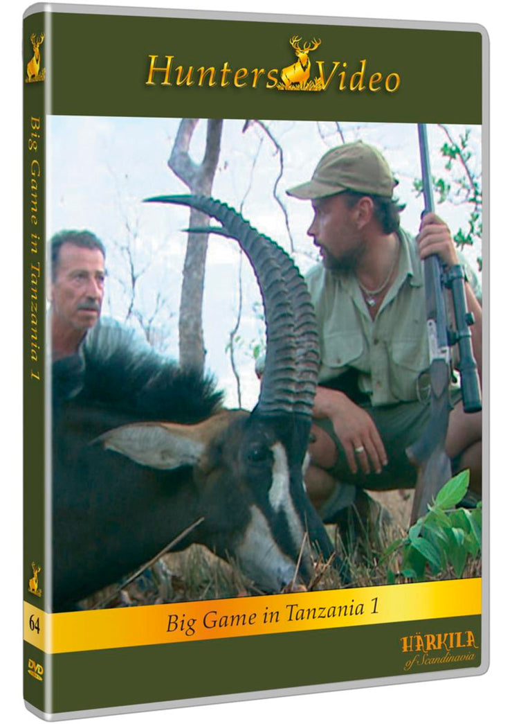 "Hunters Video DVD ""Big Game, Tanzania 1"" DVD multi language"