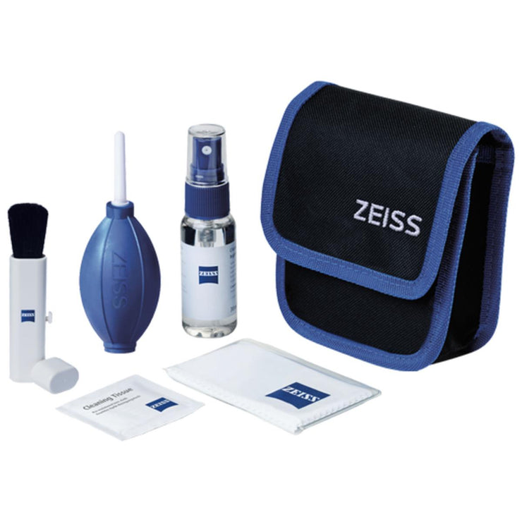 Zeiss Lens Cleaning Kit (contains pouch,lens, cloths, brush & optical cleaning mixture)