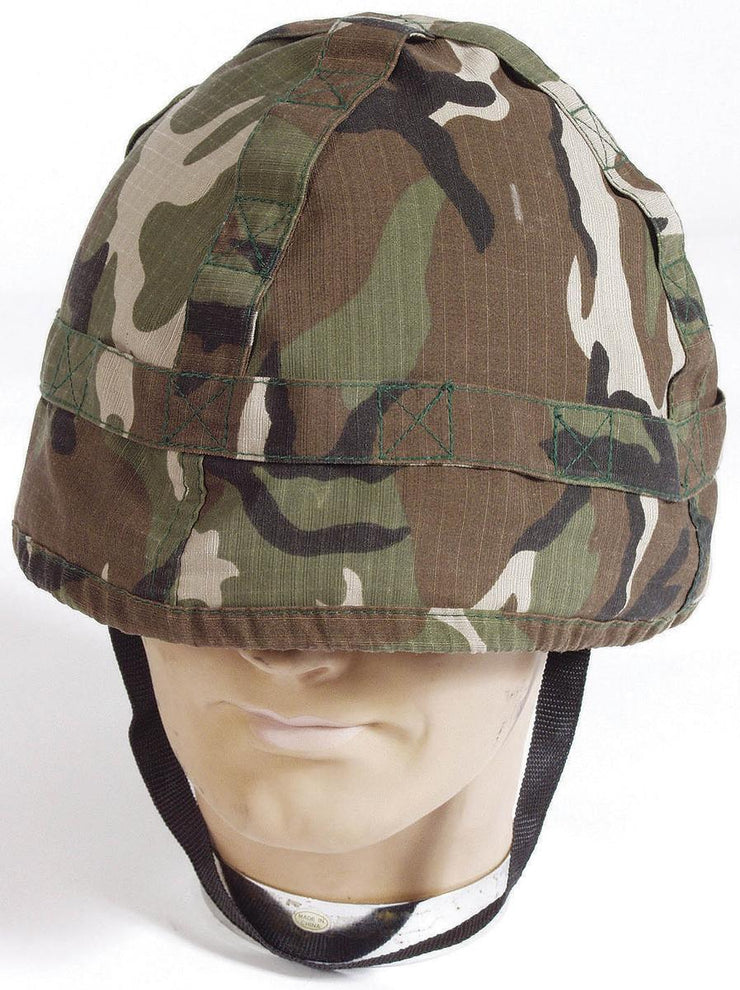 US-Style Helmet Replica Woodland Cover