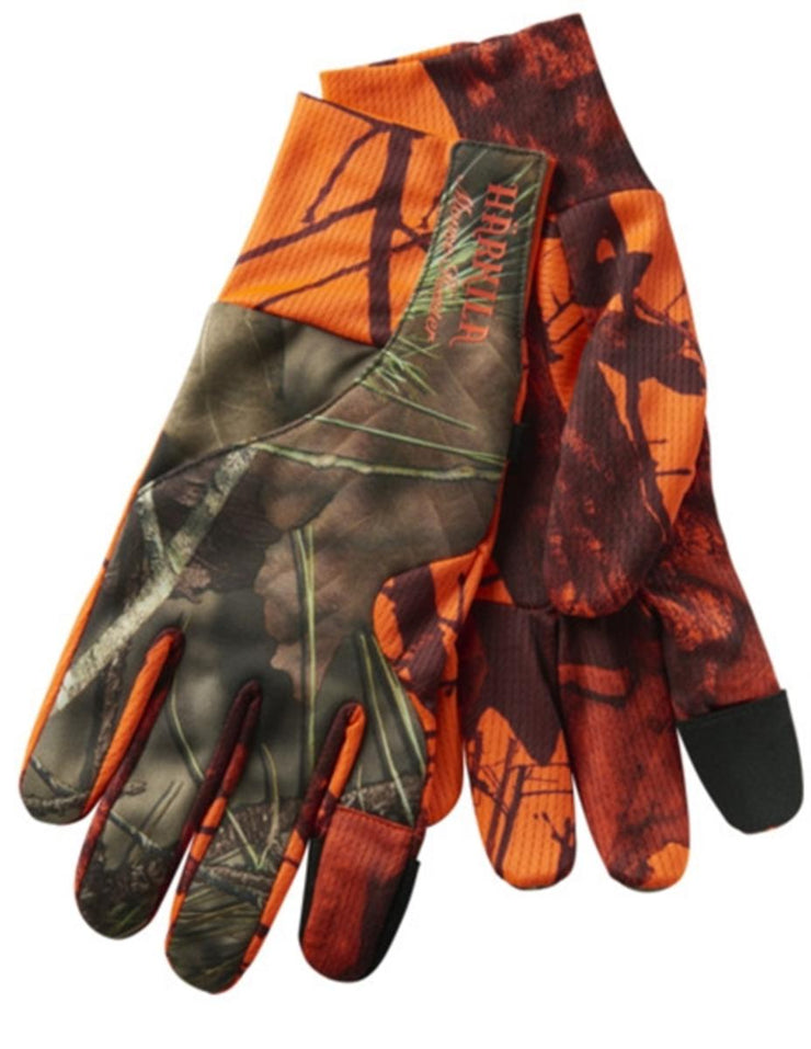Harkila Moose Hunter gloves MossyOak®Break-Up Country®/MossyOak®OrangeBlaze
