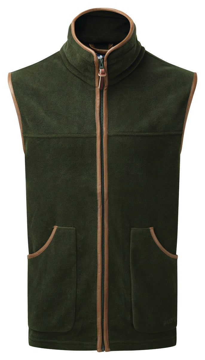 ShooterKing Performance Fleece Gilet Green