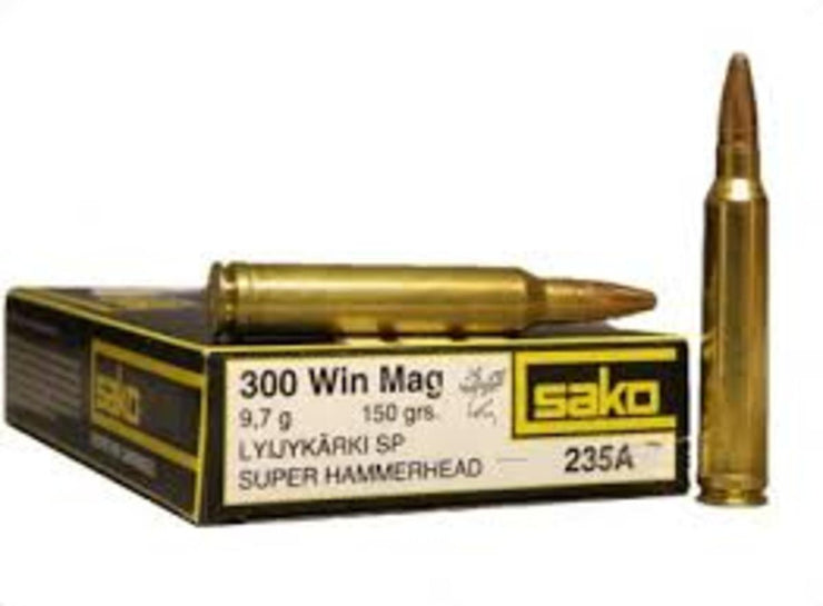 SAKO .300 Win Mag 150gr Super HH SP 20PK