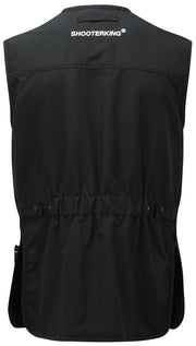 ShooterKing Clay Shooter Vest   Black