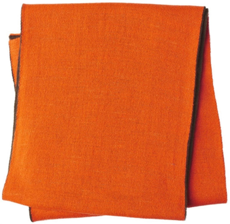 Seeland Ian Reversible scarf Hi-vis orange/Pine green