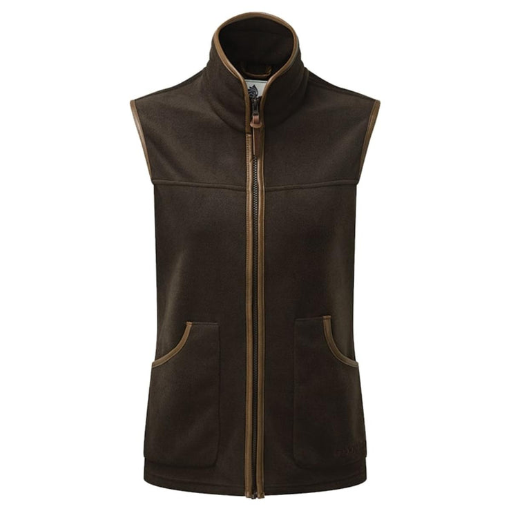 ShooterKing Performance Fleece Gilet Ladies   Brown