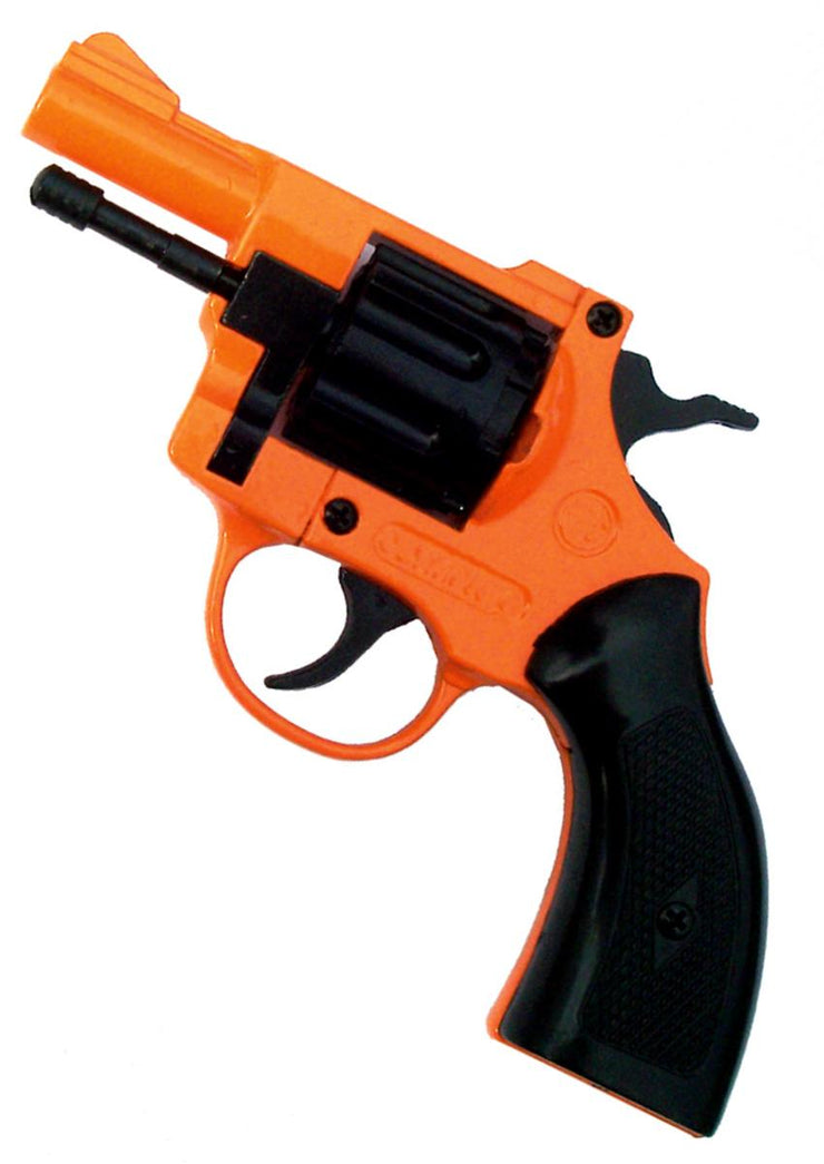 Bruni .22 Blank Revolver Orange Olympic 6